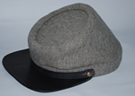 Gray Jeans Cloth Kepi - Kepis